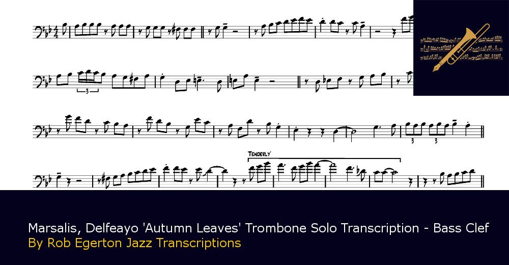 Rob Egerton Jazz Transcriptions